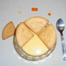 1er/01/2018 Dessert : Flan à la Vanille  et Biscuits des Flandres