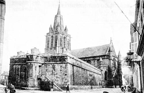 La citerne de l'église Notre-Dame construite en 1691