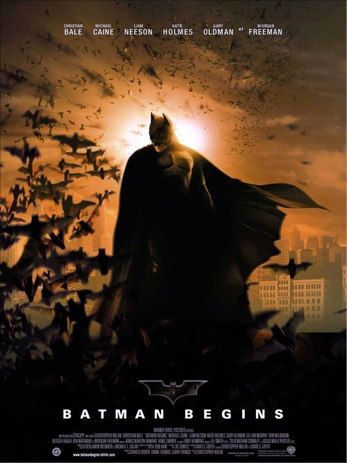 BATMAN BEGINS - BOX OFFICE BATMAN 2005