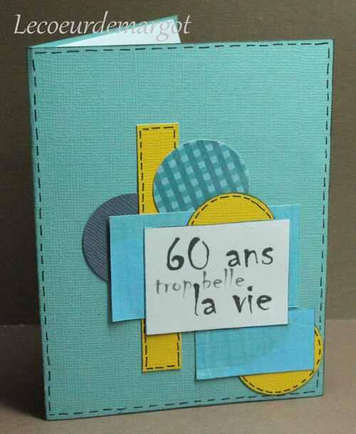 Scrap / Carte cadeau pour un anniversaire