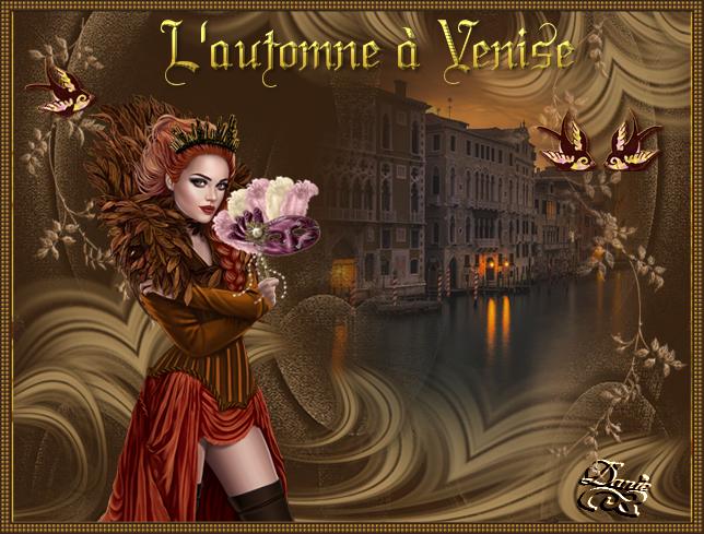 Automne à Venise....Défi de Beauty