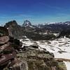 Du Garmo de Izás (2515 m), Sesques, pico de Anayet, Ossau et Lurien