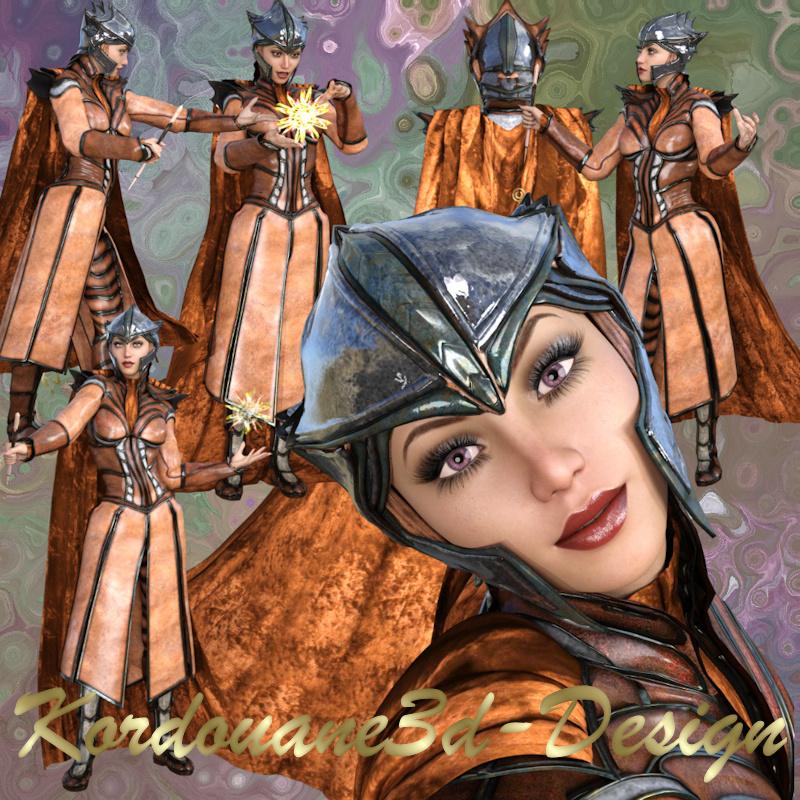 Femme fantasy (tube-render-poser)