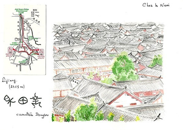 28 Lijiang, les toits