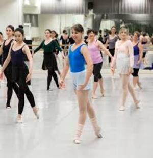 dance ballet class kinesiology ballet
