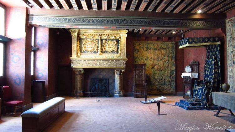 Blois l'intérieur du château