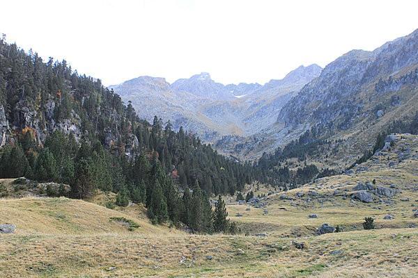 rando octobre 2010, vue sur le col d'Aratille