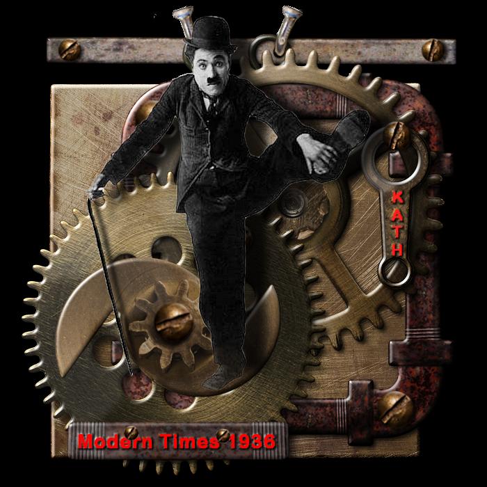 CHARLIE CHAPLIN : Modern Times 1936 ( défi du mois)