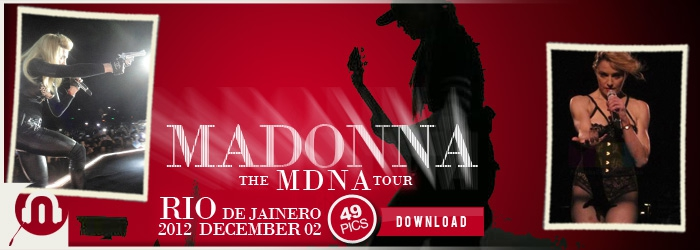 The MDNA Tour - Rio December 02 - Pictures