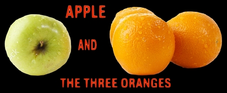 Apple And The Three Oranges