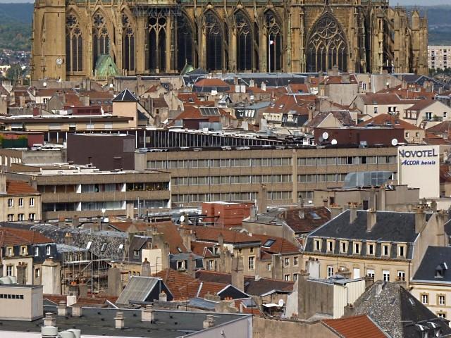 Metz vue du ciel 1 Marc de Metz 2011