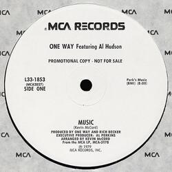 One Way Feat. Al Hudson - Music