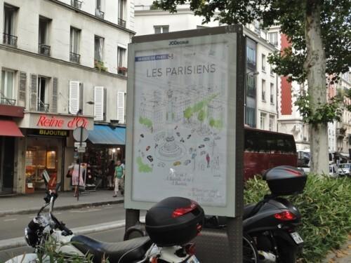 affiche parisien Kanako 3541