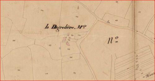 La Digrelière, paroisse disparue....