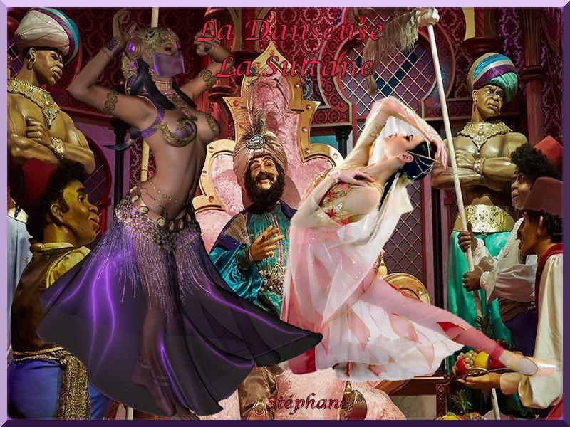 La danseuse la sultane défi Marjolaine !