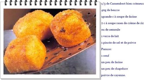 Diablotins au Camembert