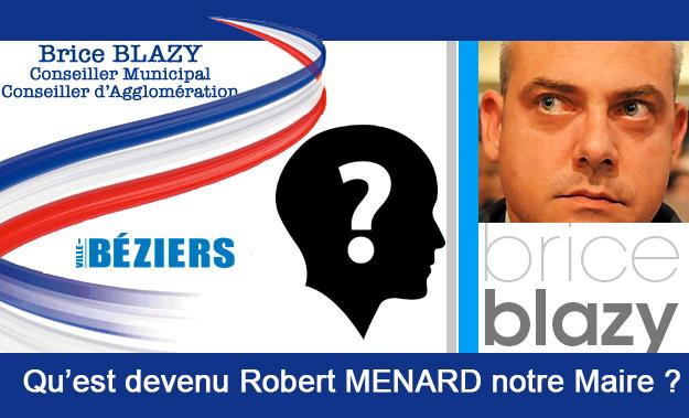 BEZIERS - Après Reporter Sans Frontière : qu'est devenu Robert Ménard notre Maire ? .. par Brice Blazy