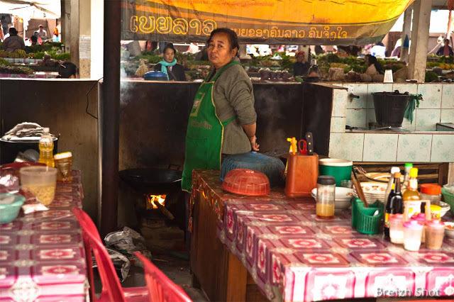 Cuisine de Marché à Luang Namtha