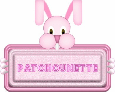 Patchouette lapin rose