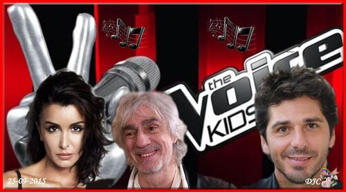 THE VOICE KIDS SEPTEMBRE 2015
