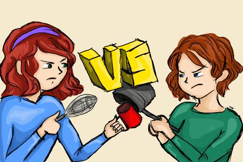 Aure vs Maddy : Mug cakes