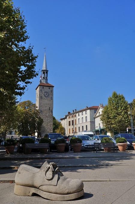Romans-sur-Isère au fil des rues