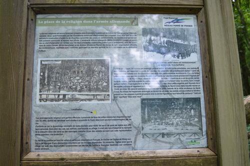 Cantonnement allemand vestiges 54700 vilcey-sur-trey