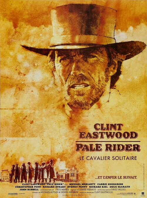 PALE RIDER - BOX OFFICE CLINT EASTWOOD 1985