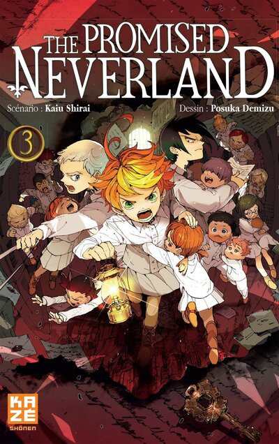 The promised Neverland, Tome 3