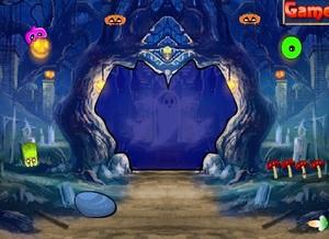 Jouer à G4K Halloween ghost forest escape