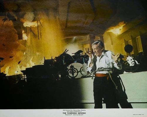 LA TOUR INFERNALE - PAUL NEWMAN BOX OFFICE 1975