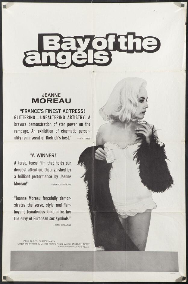 BAY OF THE ANGELS BOX OFFICE USA 1964