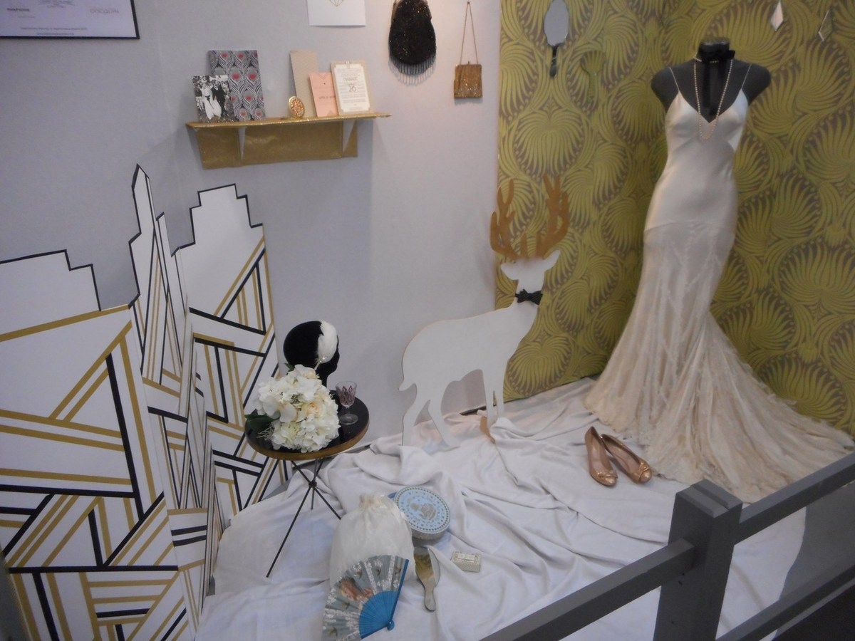 Le boudoir de la mariée par La fiancée du Panda