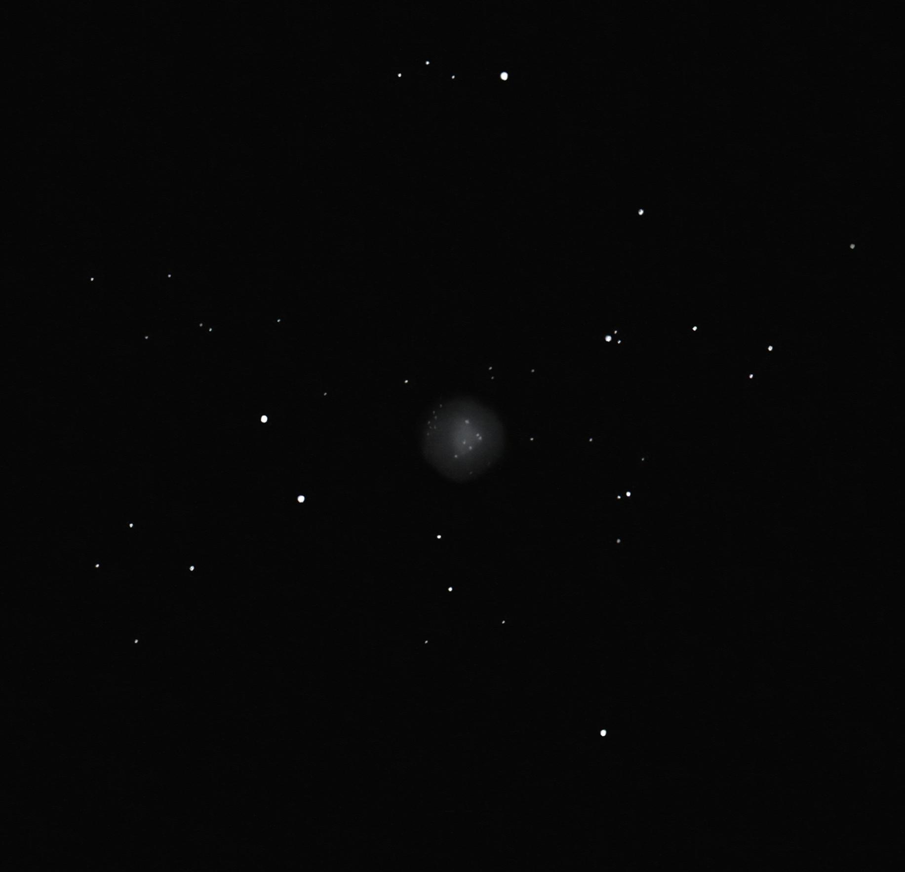 M72 globular cluster
