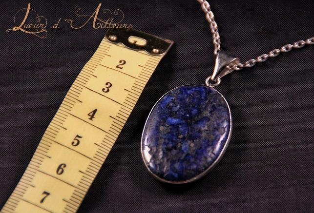 Pendentif Âme d'Isis en Lapis-Lazuli