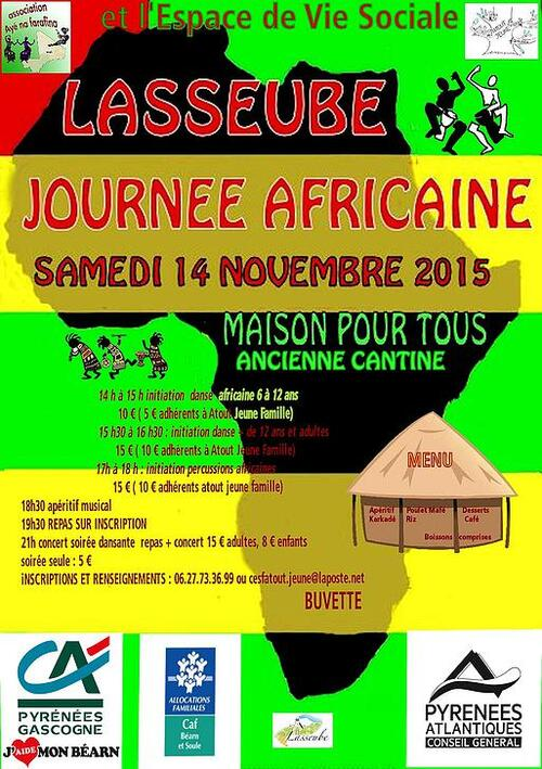 Journée africaine LASSEUBE 2015
