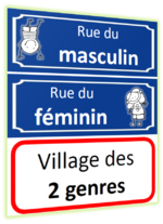 Féminin et Masculin (Un - Une)