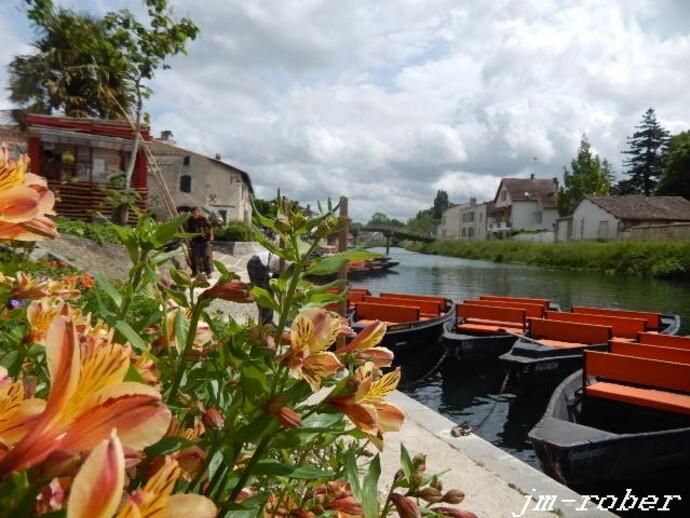 Coulon (79) capitale de la venise verte et sa Maison du Marais et l'histoire du Marais mouillé.....