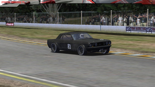 Ford Mustang de 1967 JP Belmondo
