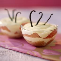 Tiramisu pamplemousse, vanille et anis
