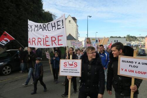 63 étudiants sont concernés par la fermeture du lycée.
