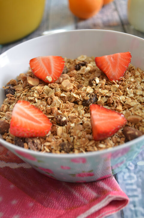 Granola { aux Fruits Sec}