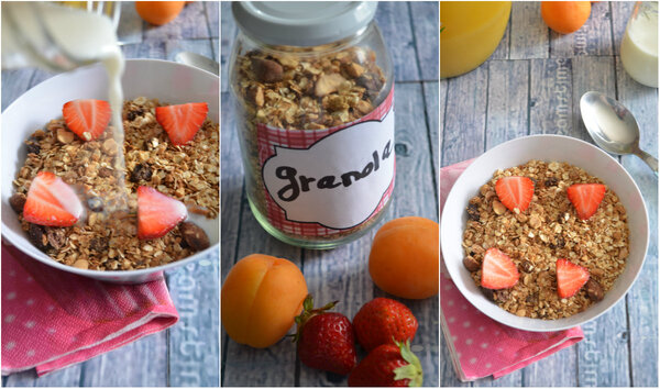 Granola { aux Fruits Sec}