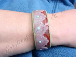 Mon tout premier bracelet esclave..