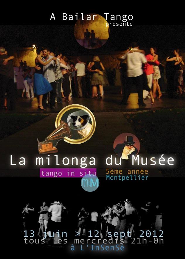 Soirée d'ouverture de la MILONGA DU MUSEE (MdM), ce mercredi 13 juin