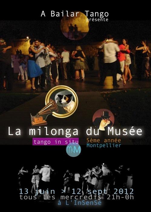 Dernière PITUCA vendredi 8 juin et 1ère MILONGA du MUSEE mercredi 13 juin