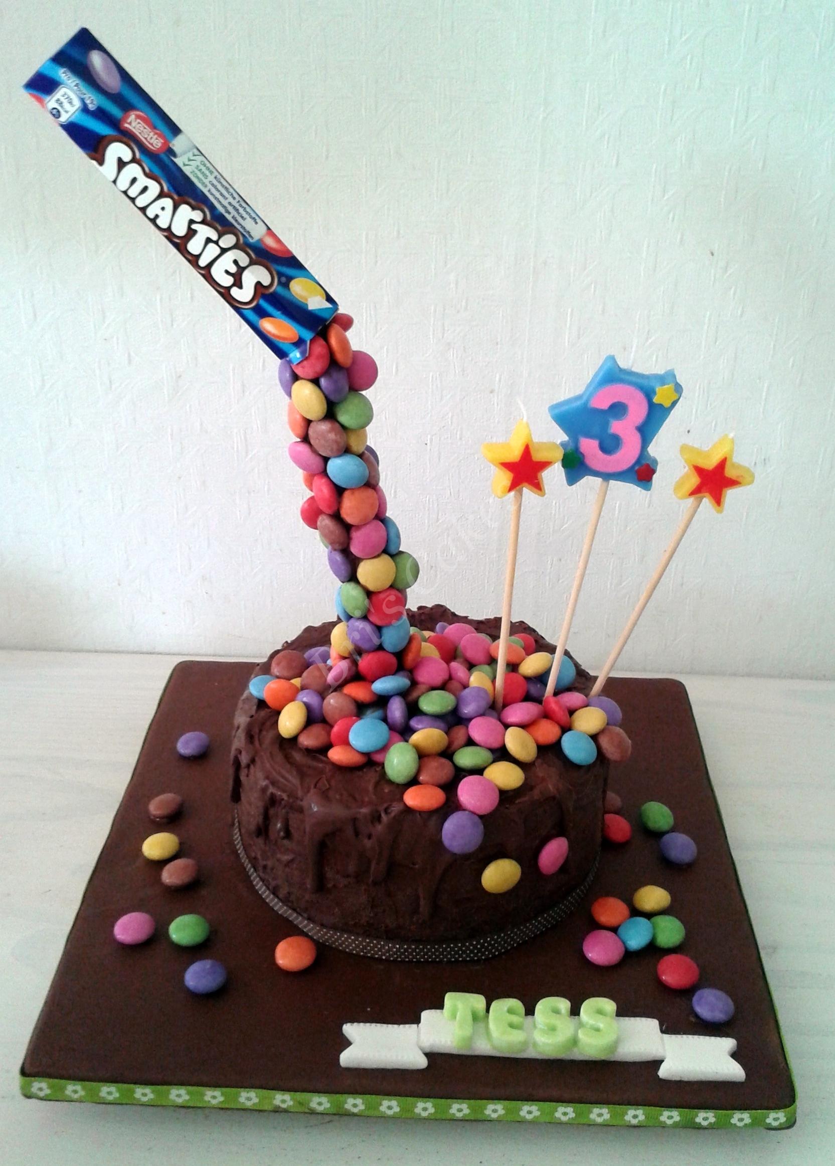 Huummm Une Avalanche De Smarties Bri S Cakes