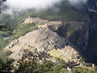 Le Machu Picchu vu du Huayna Picchu