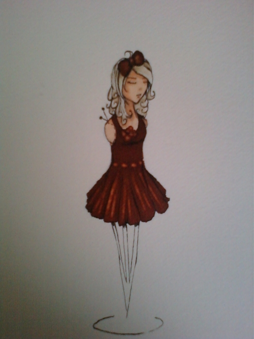 doll and dress