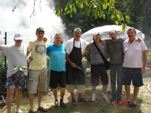 LES PHOTOS REPAS VACANCES  AOUT 2012